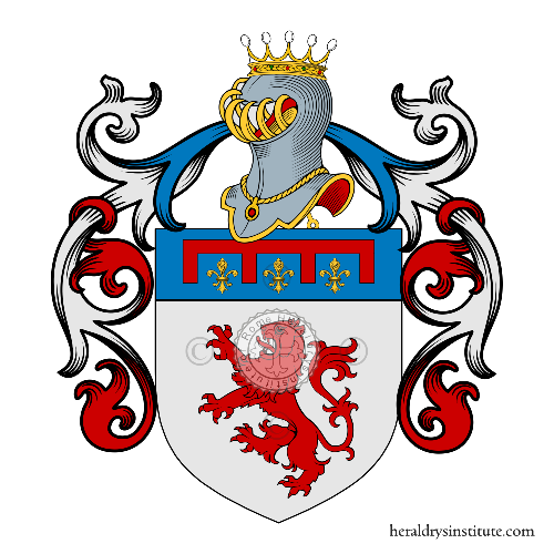 Coat of Arms of family Tucci (Firenze)