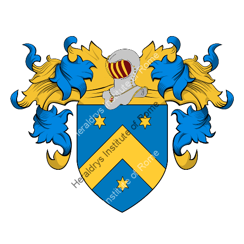 Coat of Arms of family Tucci del Campiglia (Siena)