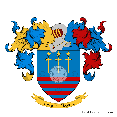 Coat of Arms of family Martino (de) (Napoli)
