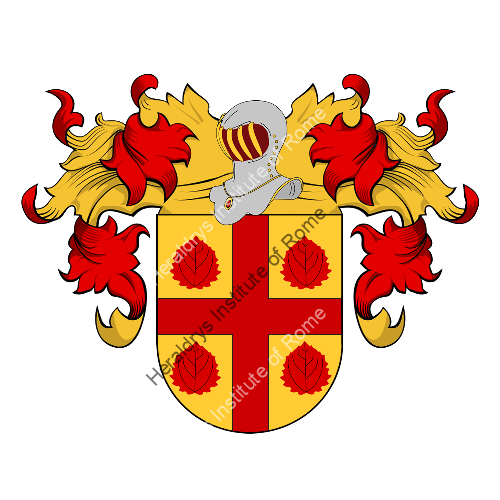 Coat of Arms of family Xavier