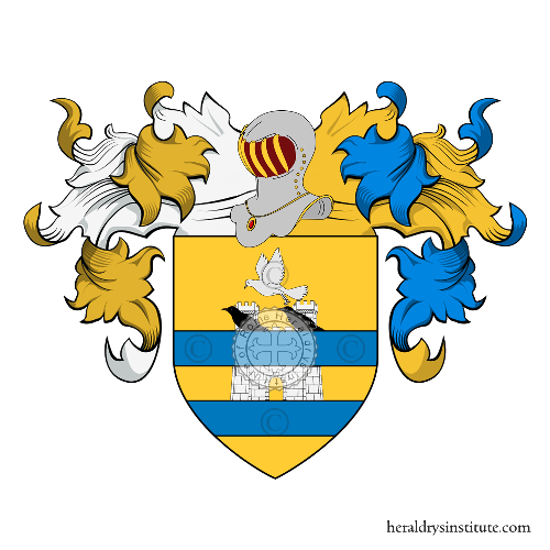 Coat of Arms of family Colombera