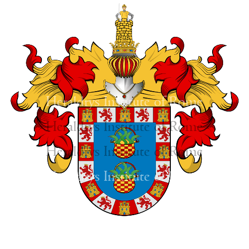 Coat of Arms of family Guzman (Seville)