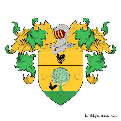 Coat of Arms of family Galetta o Galetto