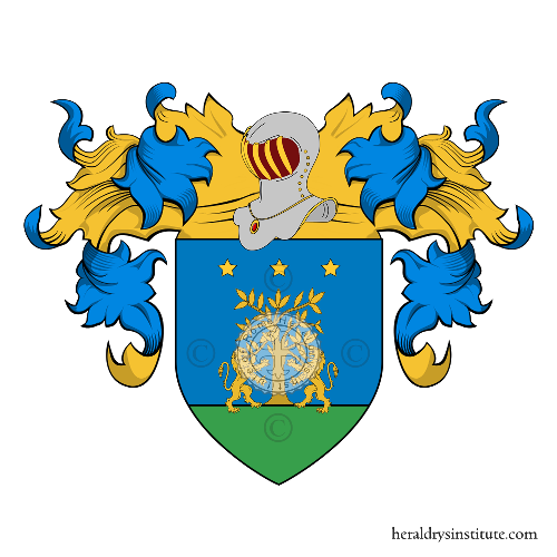 Coat of Arms of family Laureani o Laureano