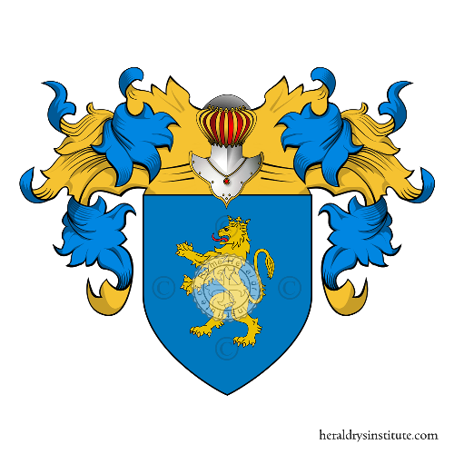 Coat of Arms of family Saura