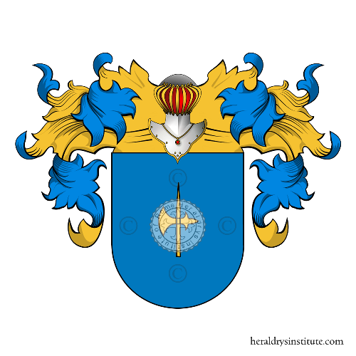 Coat of Arms of family Isaura