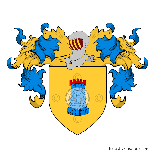 Coat of Arms of family Guardia (Della)