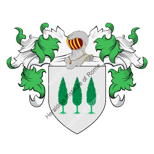 Coat of Arms of family Boitte