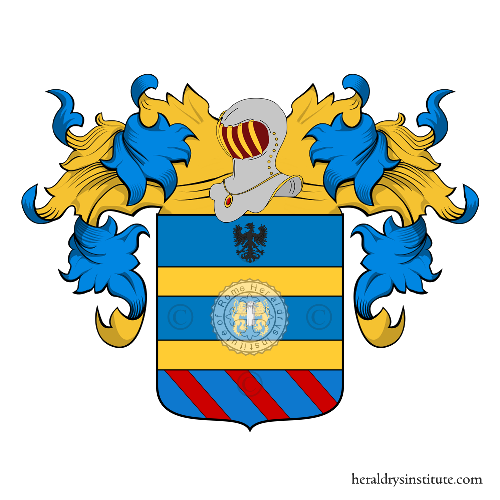 Coat of Arms of family Sacco (Reggio Calabria)