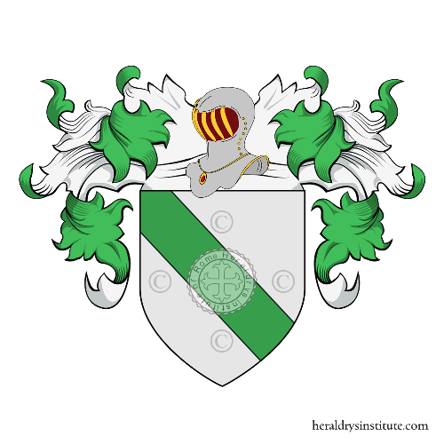 Coat of Arms of family Sacco (Verona)