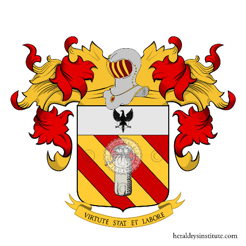 Coat of Arms of family Sacco (Ponderano)