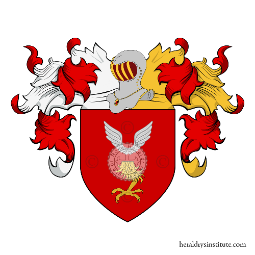 Coat of Arms of family Casale (Padova)