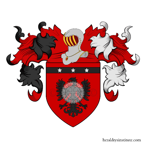Coat of Arms of family Verzera