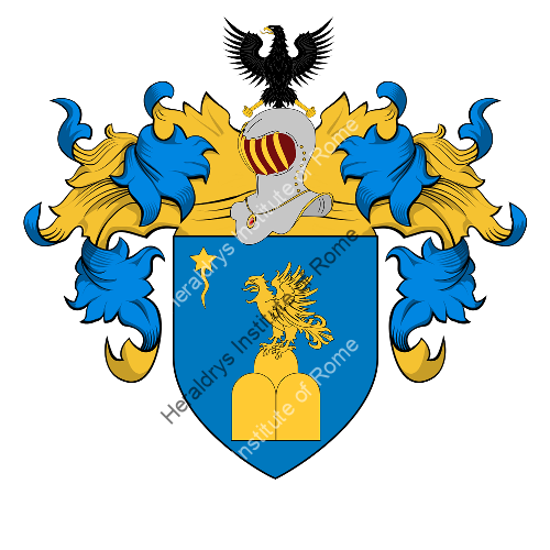 Coat of Arms of family Tironi o Tirone