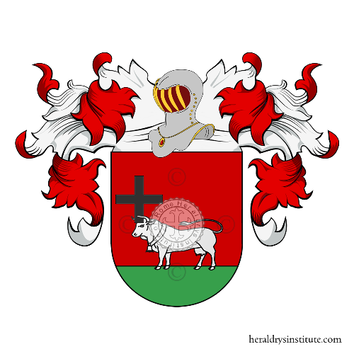 Coat of Arms of family Baptista