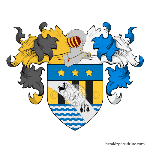 Coat of Arms of family De Maria Alliata