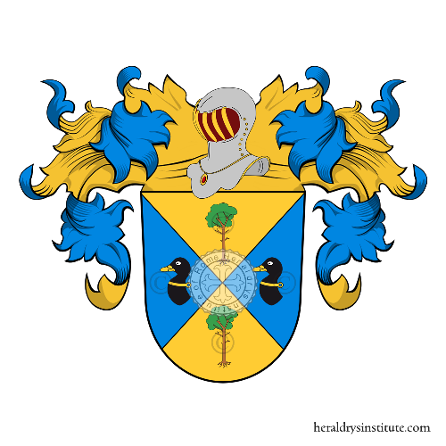 Coat of Arms of family Milow