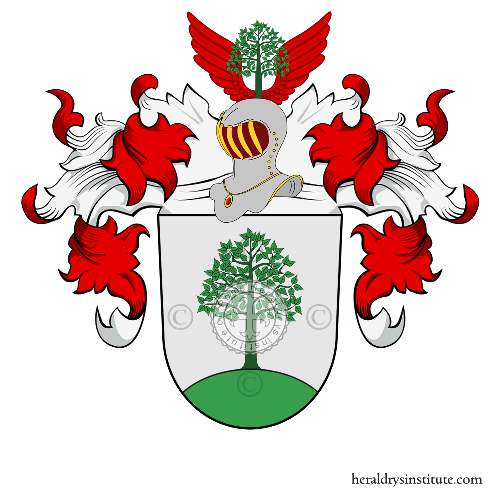 Coat of Arms of family Lindner (Nuremberg)