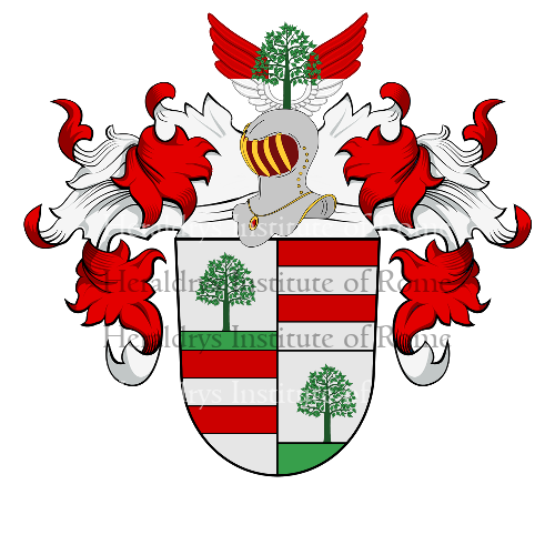 Coat of Arms of family Lindner (Baviére)