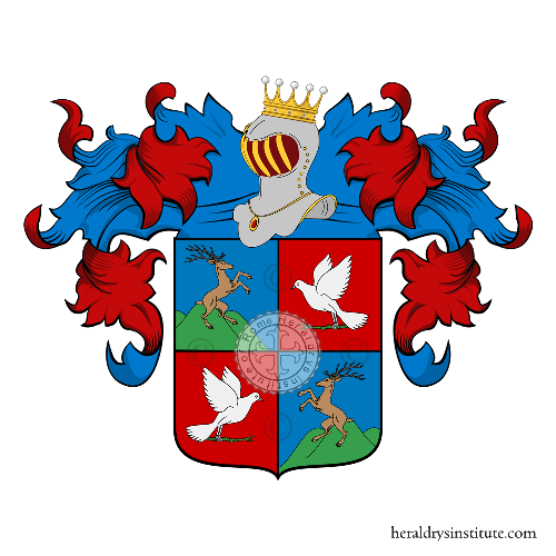 Coat of Arms of family Fioresi o Fiorese