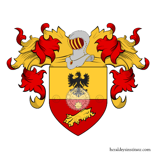 Coat of Arms of family Bellini (Milano)