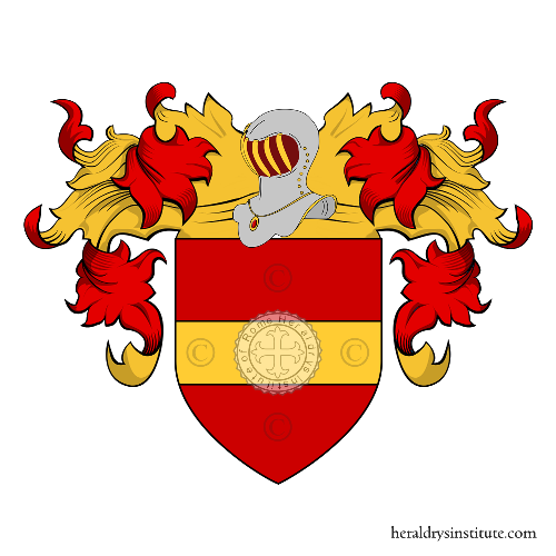 Coat of Arms of family Nobili (de) (Lucca)