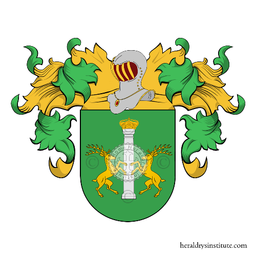 Coat of Arms of family Milla