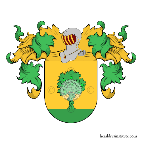 Coat of Arms of family Eva