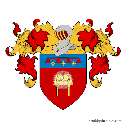 Coat of Arms of family Pedrazzi