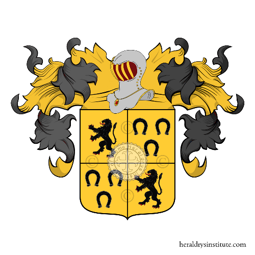 Coat of Arms of family Rolly ou Roly