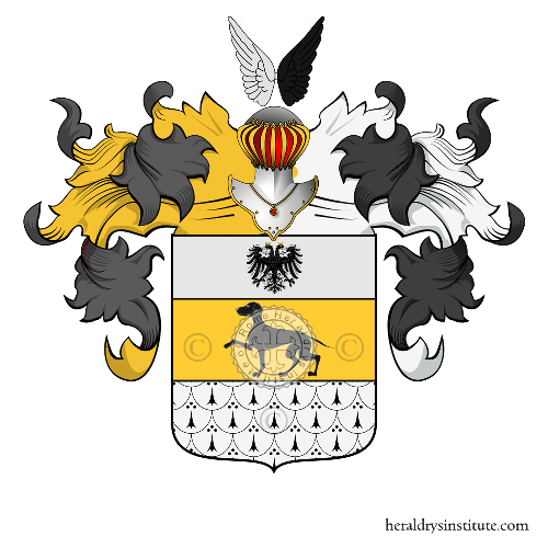 Coat of Arms of family Benzoni (Milano)