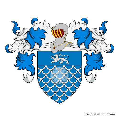 Coat of Arms of family Benzoni o Benzone (Crema)