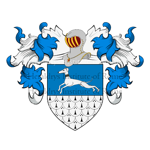 Coat of Arms of family Benzoni o Benzone (Venezia)