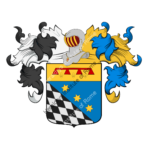 Coat of Arms of family Nardini (Forlì)