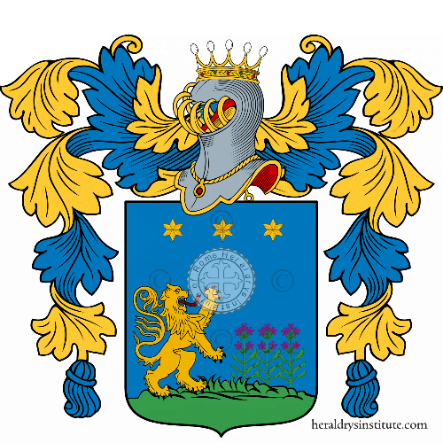 Coat of arms of family Nardini