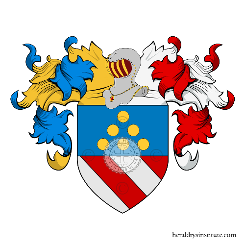 Coat of Arms of family Tomini Foresti