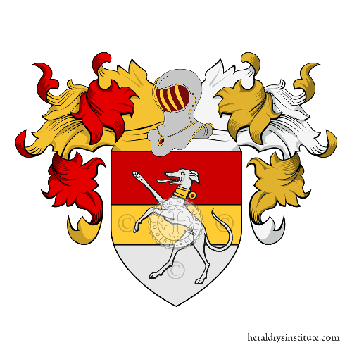 Coat of Arms of family Mercabruni