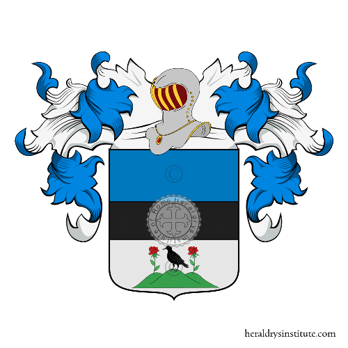 Coat of Arms of family Monticelli (Bologna)
