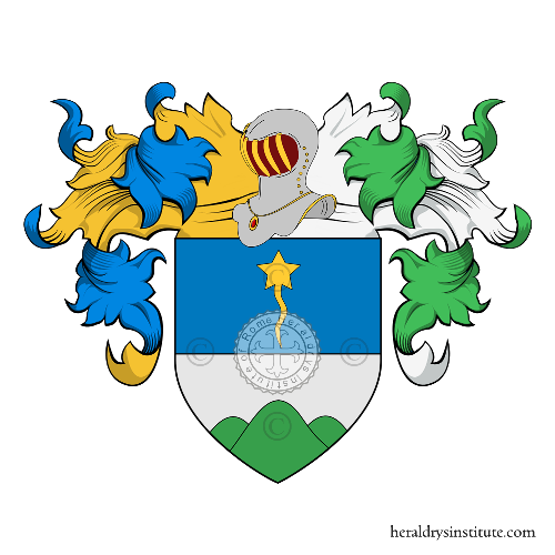 Coat of Arms of family Monticelli (Velletri)