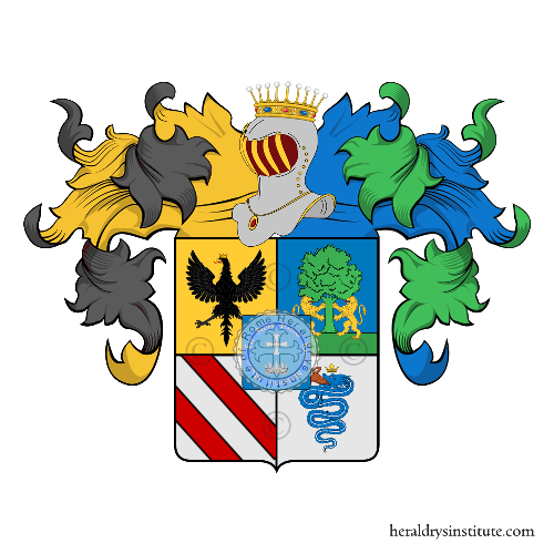 Coat of Arms of family Durini (Milano)