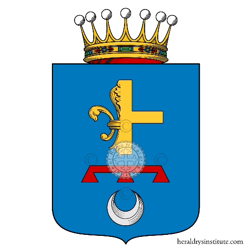 Coat of Arms of family Santacroce (Messina)