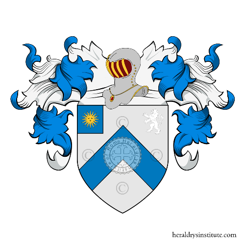 Coat of Arms of family Amodeo (Friuli)