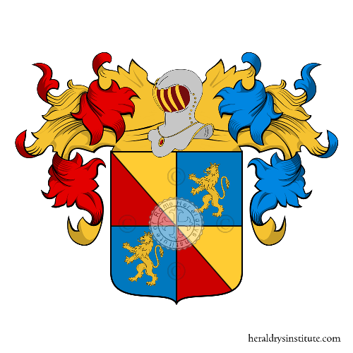 Coat of Arms of family Madaillant de Lesparre