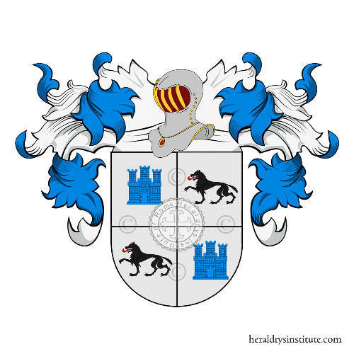 Coat of Arms of family Amparan
