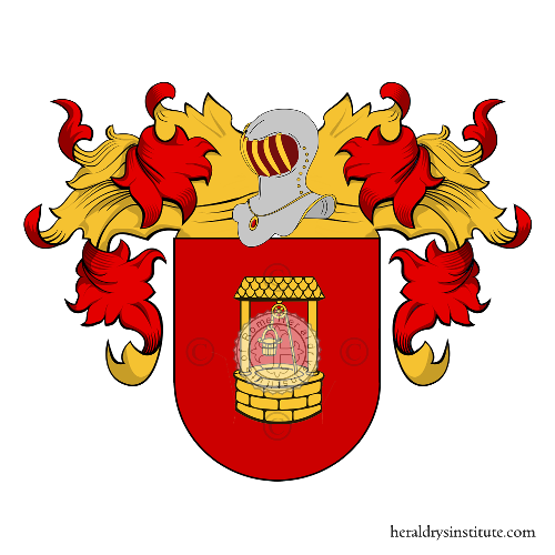 Coat of Arms of family Castana