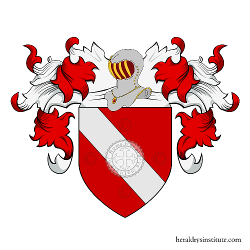 Coat of Arms of family Ghidella o Ghidini