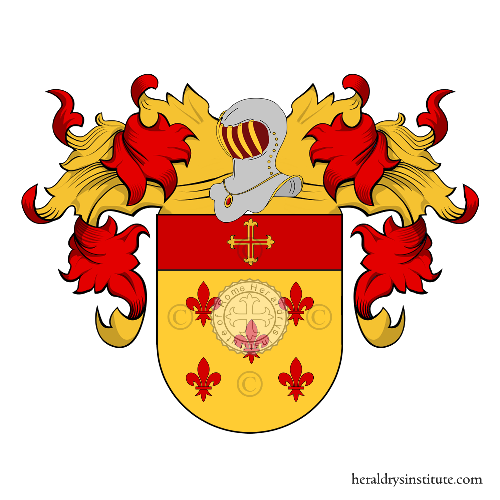 Coat of Arms of family Rodrigues