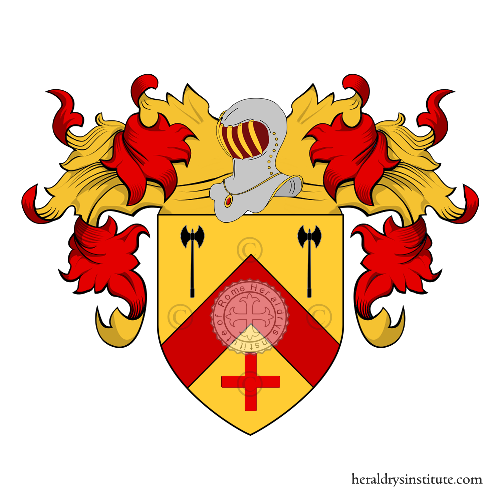 Coat of Arms of family Pichot (France - Maine)