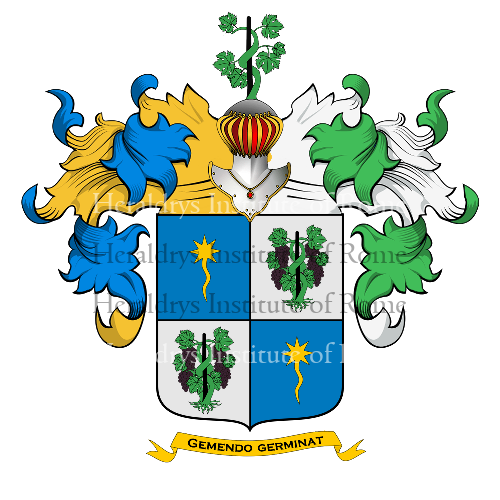 Coat of Arms of family Carasso, Carazzo, Carassotto, Carrasso o Carassi