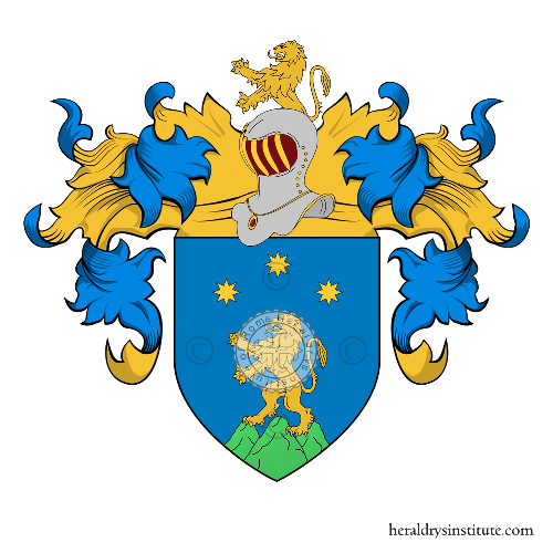 Coat of Arms of family Montani (Milano)